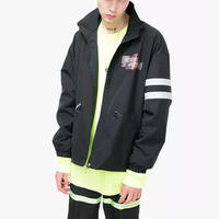 【売れ筋】MISSIONデザインジャケット