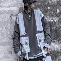【売り切れ間近 】ダブルポケットオーバーサイズ トレーナー【AA00941】