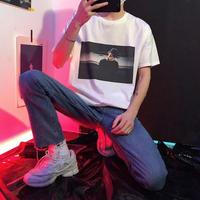 【NEW】ボックスデザインTシャツ 2カラー