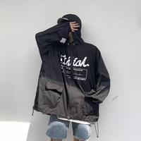 【HOT】オーバーサイズナイロンデザインジャケット【EM00781】