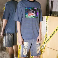 【GOOD】EYEボーダーデザインTシャツ