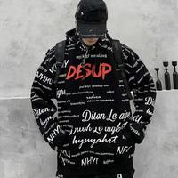 【ストリート】DESUPデザインフーディー【RS00616】