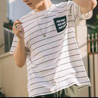 【GOOD】NEWデザインボーダーTシャツ