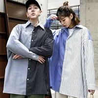 バイカラーオーバーサイズシャツ【S00121】