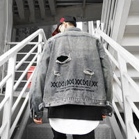 【再入荷】XXXXデザインデニムジャケット【PU00822】