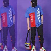 【DOPE】FANデザインアンバランスTシャツ 3カラー