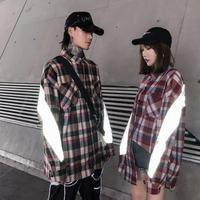 【売り切れ間近】リフレクトデザインシャツ【MI00649】