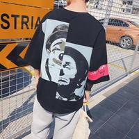 【COOL】ピエロオーバーサイズTシャツ 2カラー