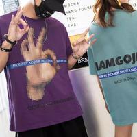 【大人気】OKデザインビックサイズTシャツ 2カラー