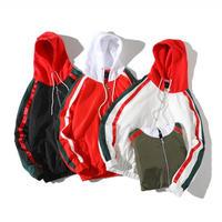 【SALE】フードラインデザインジャケット 4カラー