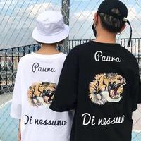 [STREET]タイガーデザインTシャツ 2カラー