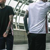 【売り切れ間近】FIGHTラインデザインTシャツ 2カラー