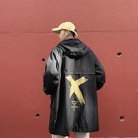 【売り切れ間近】Xデザインロングジャケット【LA00598】