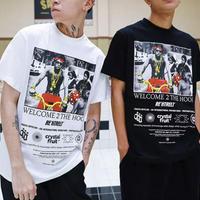 【STREET】WELCOMEデザインTシャツ 2カラー