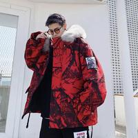 ストリート迷彩コートジャケット【LA00445】