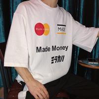 [大人気]クレカデザインビックサイズTシャツ 3カラー