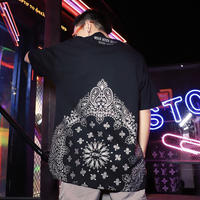 【STREET】バンダナデザインTシャツ 2カラー