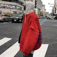 フード付きストリート風ジャケット【LA00529】