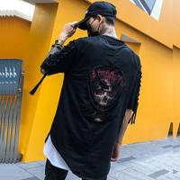 スカルストリートTシャツ【MM00238】