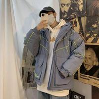 【DOPE】カラーラインデザインダウンジャケット【PR00694】