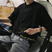 【再入荷】刺繍ビックサイズTシャツ 2カラー