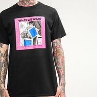 [TREND]WHATデザインTシャツ 2カラー