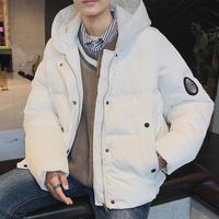 【売れ筋】ワンポイントデザインダウンジャケット 2カラー