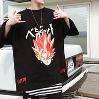【HOT】ベジットデザインTシャツ 2カラー