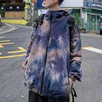グラデーションデザインフードジャケット【LA00467】