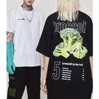 【売れ筋】BroccoliデザインTシャツ 2カラー