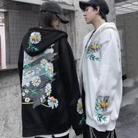 【ストリート】フラワーデザインビックサイズジャケット【YS00923】