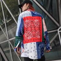【売れ筋】カラフルオーバーサイズシャツ【EM00806】