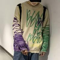 ペイントデザインセータートレーナー【LA00540】