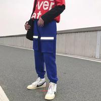 【HOT】フロントビックポケットラフパンツ 3カラー