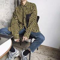 【HOT】ビックポケットデザインシャツ 3カラー