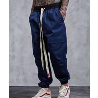 【大人気】ロング紐デザインジョガーパンツ 3カラー