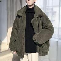 ウールデザインオーバサイズジャケット【LA00472】