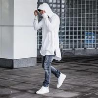 ロング丈フードストリートロングTシャツ【MM00241】