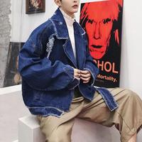 【COOL】特殊デザインデニムジャケット2カラー