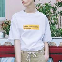 【大人気】MAKEデザインTシャツ