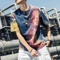 【GOOD】染デザインビックTシャツ 2カラー