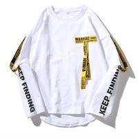 【売り切れ間近】ベルト付きロングTシャツ 2カラー