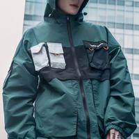 フード付きストリートジャケット【TS00385Y】