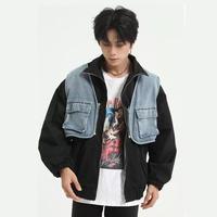 【数量限定】デニムレイヤーデザインジャケット【EM00779】