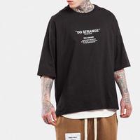 [GOOD]Do STRANGEビックデザインTシャツ 2カラー