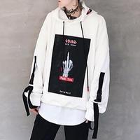 【COOL】FXXKフィンガーデザインフーディ