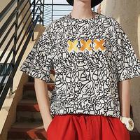 【大人気】XXXデザイン奇抜Tシャツ 2カラー