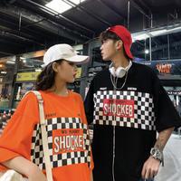 モノクロSHOCKTシャツ【LA00199】