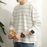 [売れ筋]ボーダー7部丈デザインTシャツ 3カラー