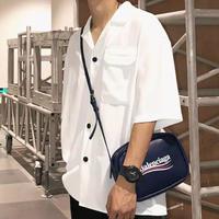 【売れ筋】スタイリッシュシンプルデザインシャツ 4カラー